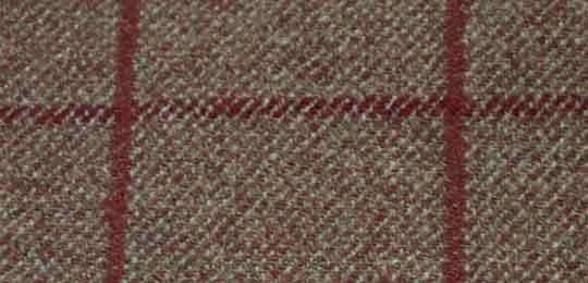 overcheck tweed fabric