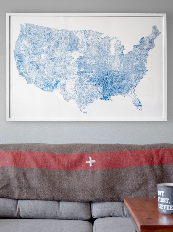 Rivers of America Free Art Printable Download