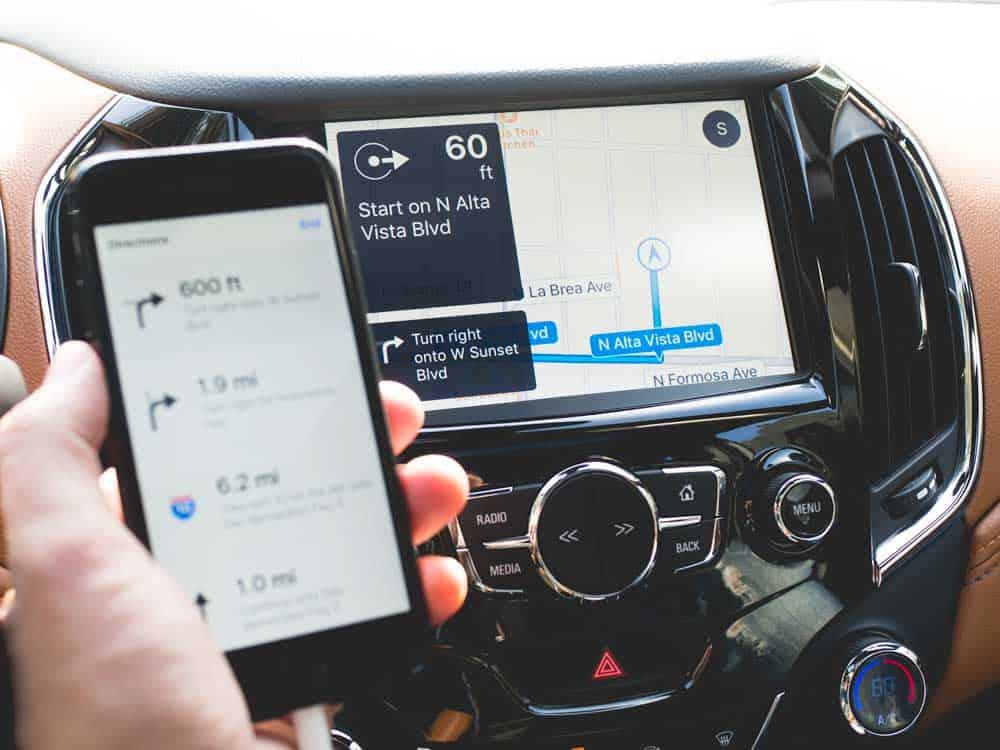 Apple CarPlay in Chevrolet Cruze