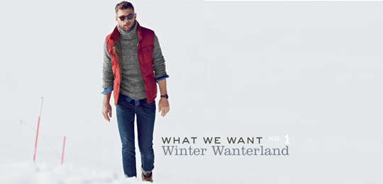 What We Want – No. 1: Winter Wanterland
