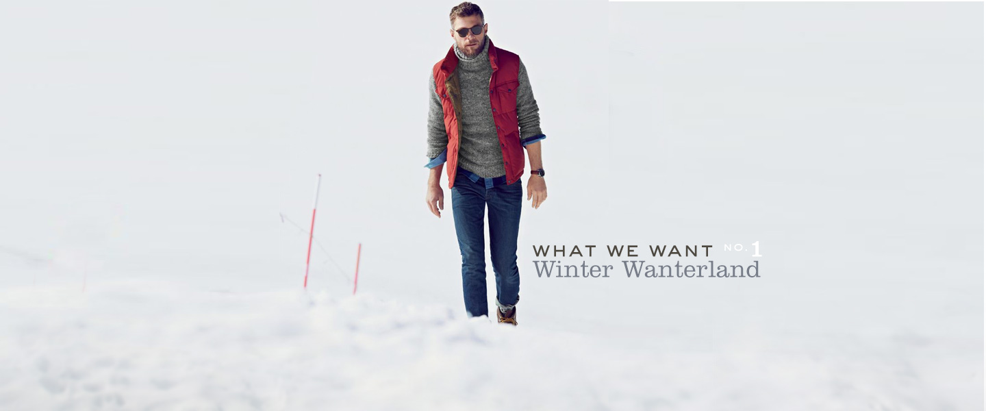 What We Want - Winter Wanterland - Primer