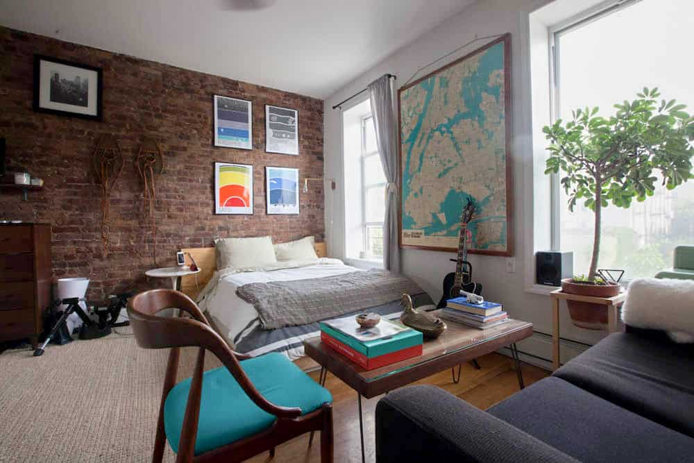 Apartment Decorating Ideas A Brooklyn Bedroom Beauteous Apartment Decorating Style