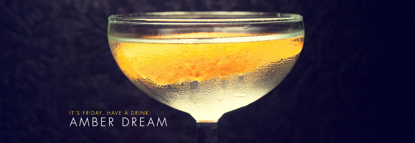 amber dream drinks with gin