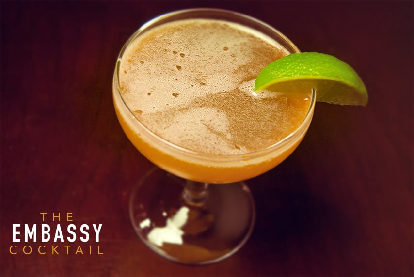 the embassy brandy cocktails