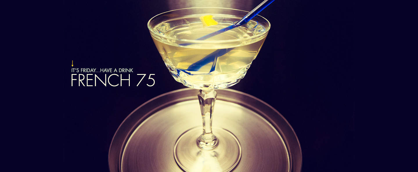 french 75 drinks with gin