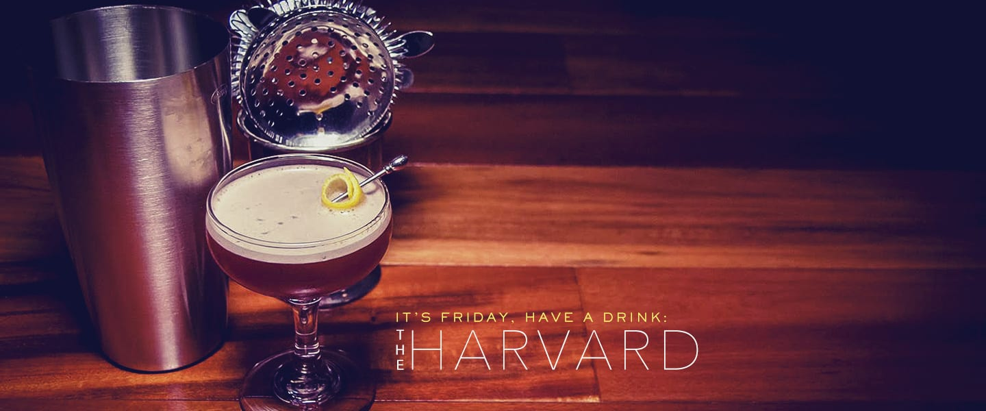 the harvard brandy cocktails
