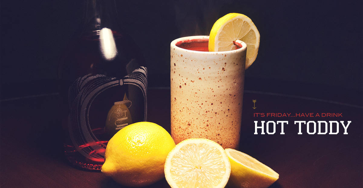 hot toddy rum mixed drinks