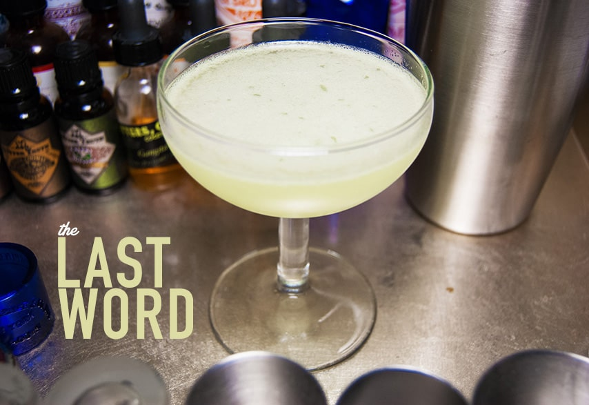 the last word drinks with gin