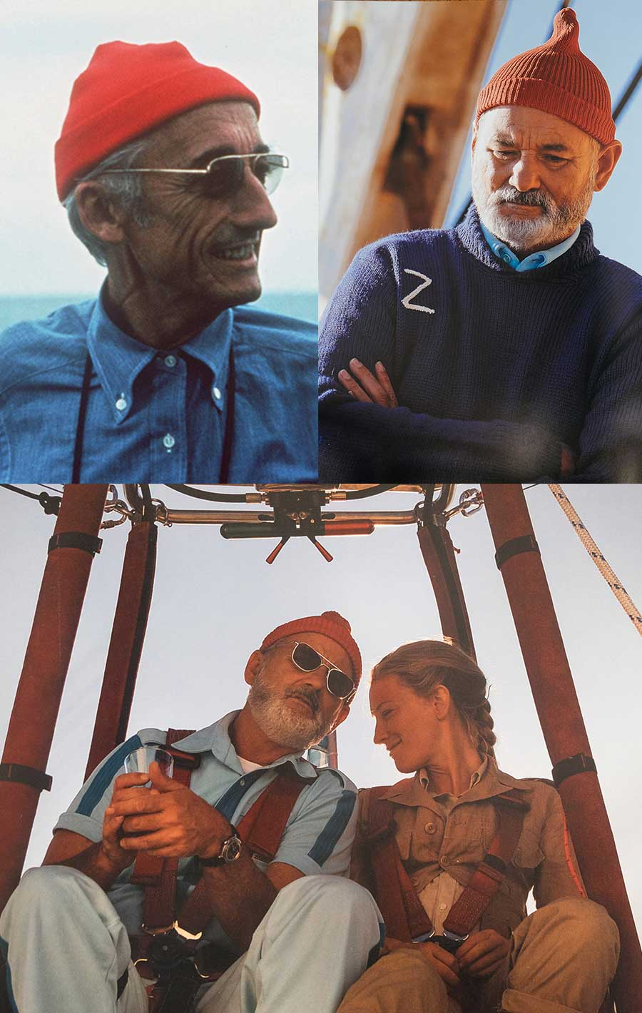 the life aquatic with steve zissou  menswear at the movies