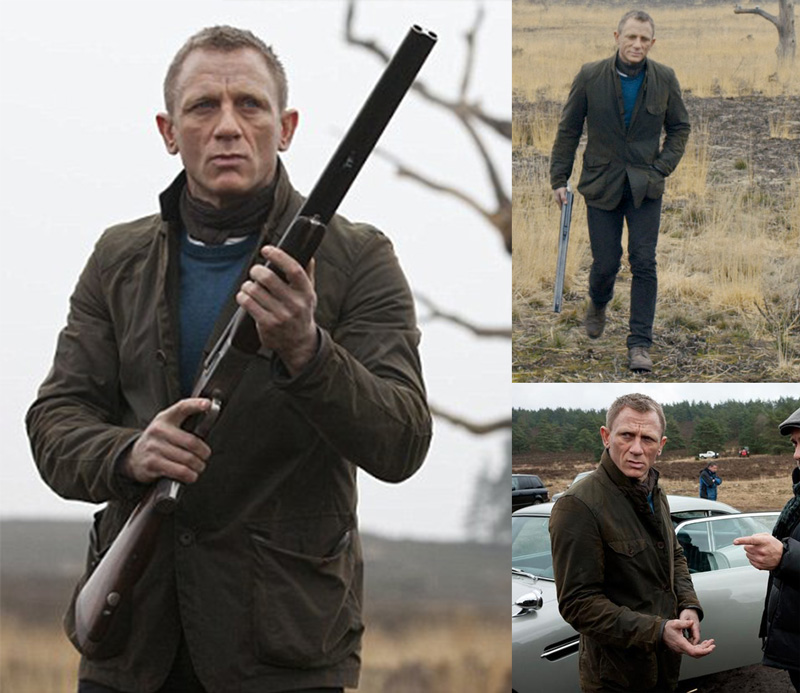 Skyfall Daniel Craig Scotland Clothing