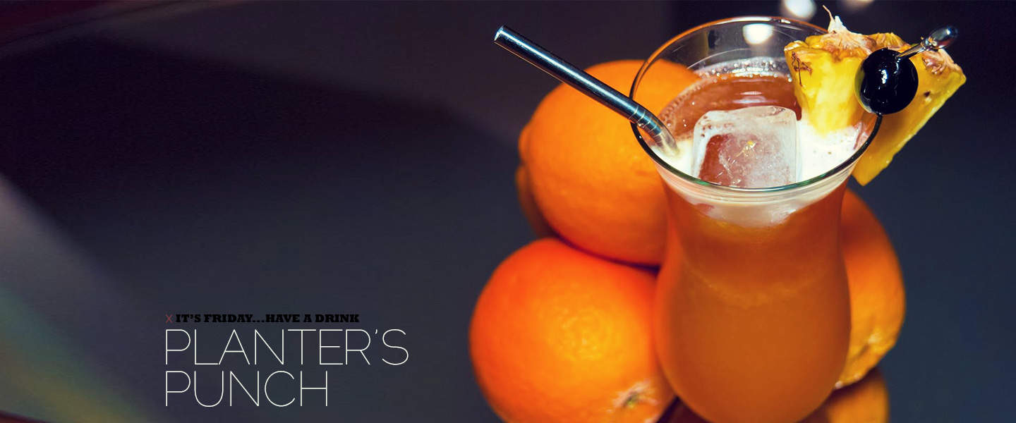 planter's punch rum mixed drinks