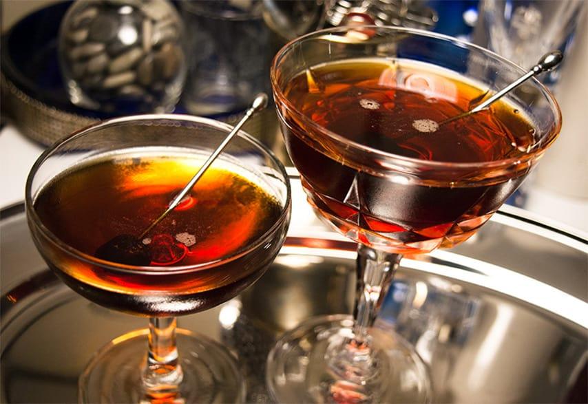 Vieux Carré brandy cocktails