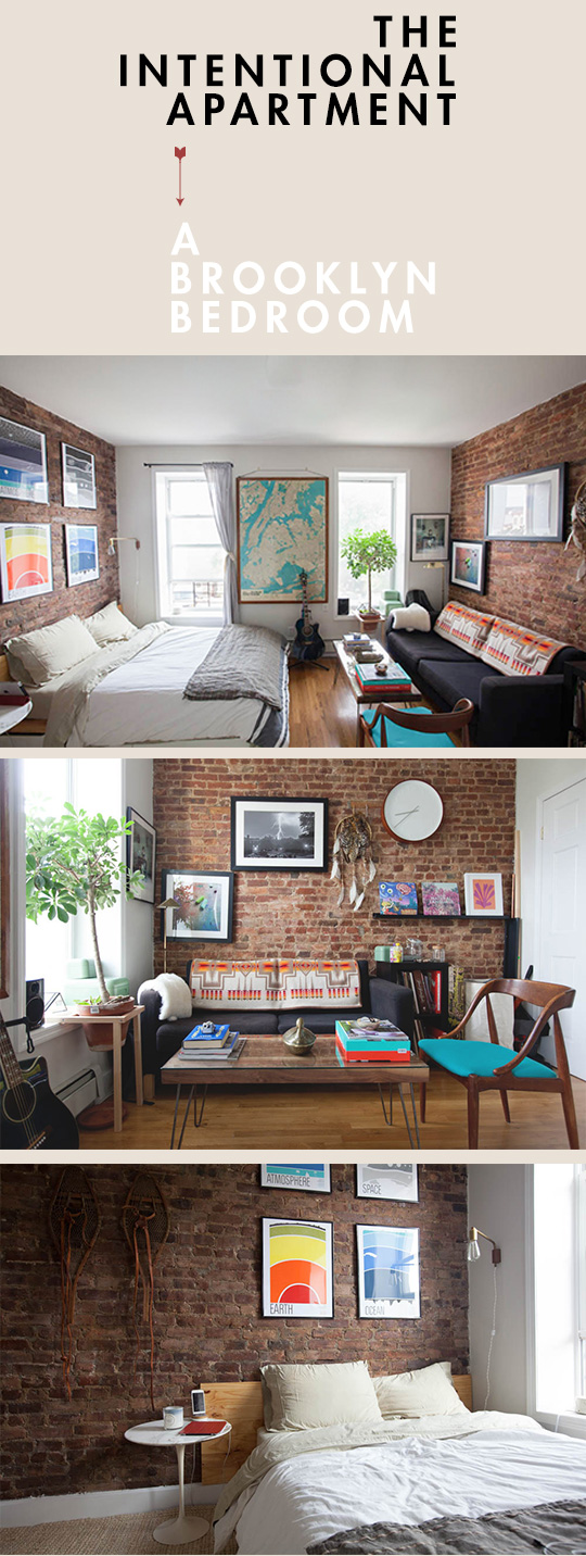 The Intentional Apartment: A Brooklyn Bedroom