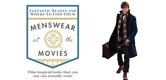 Fantastic Beasts and Where to Find Them - Menswear at the Movies
