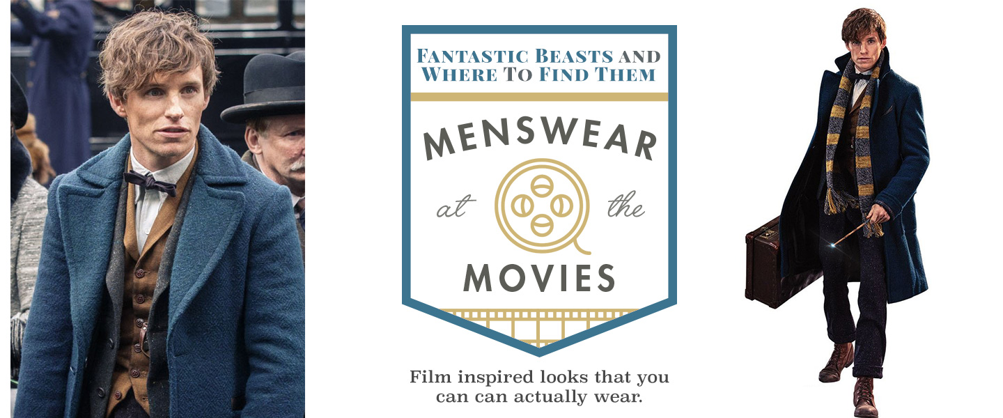 Fantastic Beasts and Where To Find Them: Menswear at the Movies