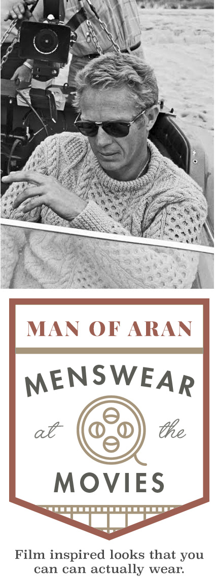 Man of Aran: Menswear at the Movies