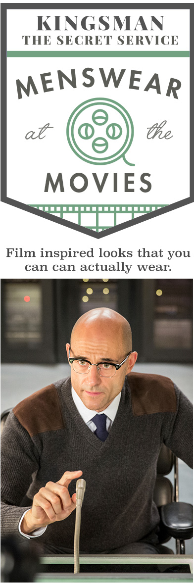 Kingsman: The Secret Service - Menswear at the Movies