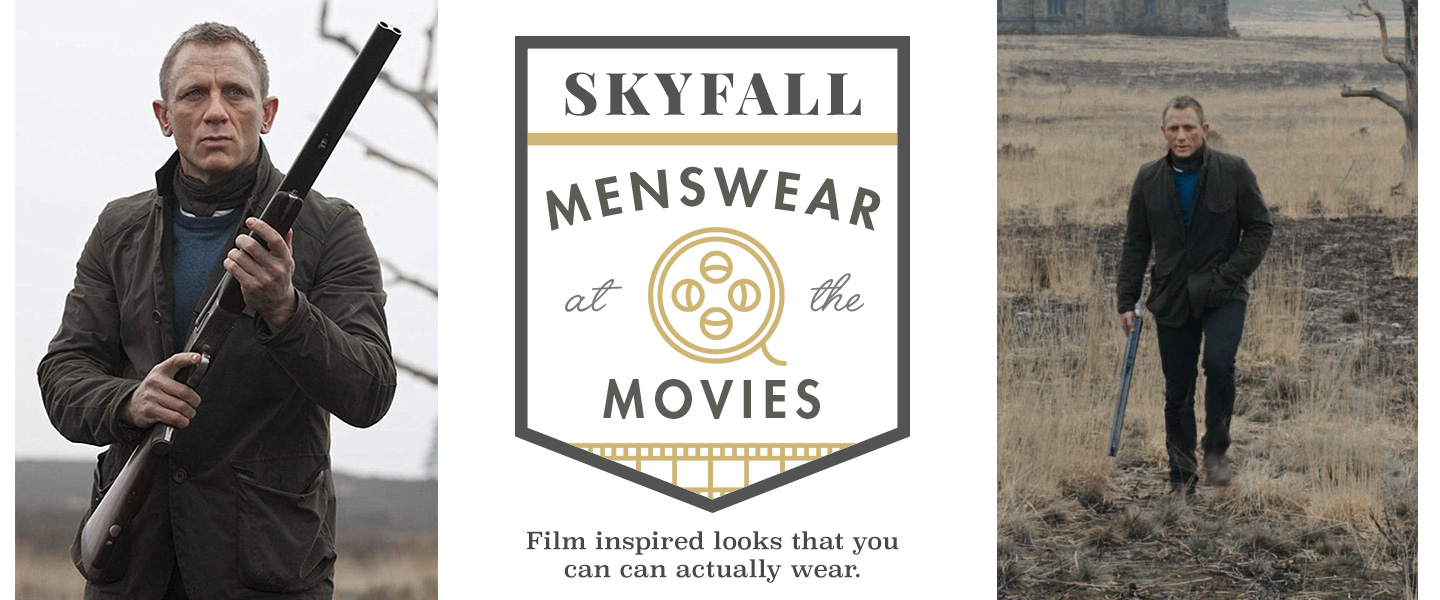 Skyfall: Menswear at the Movies