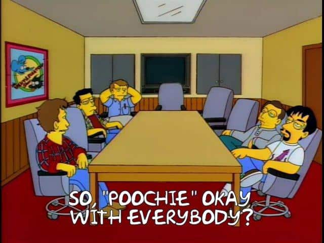 Meme so poochie okay with everybody