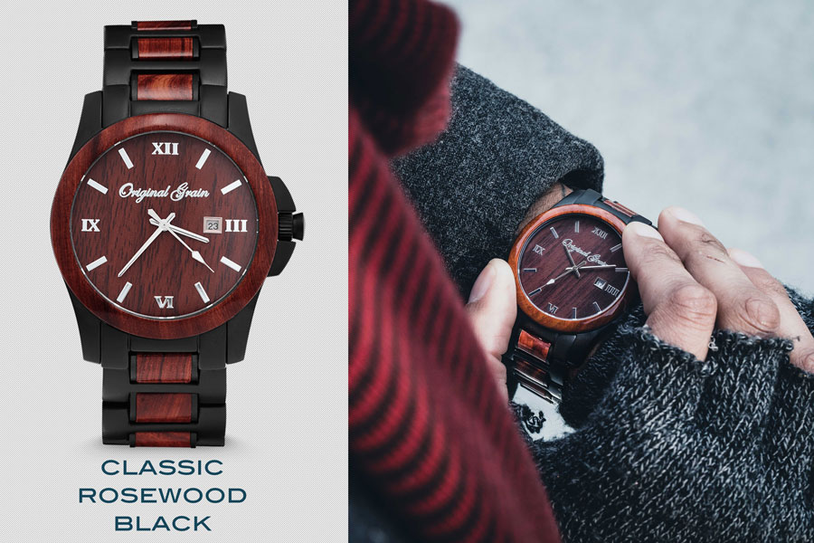wood cool design watches dial watch launches handcrafted large dials with original grain