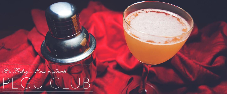 pegu club drinks with gin