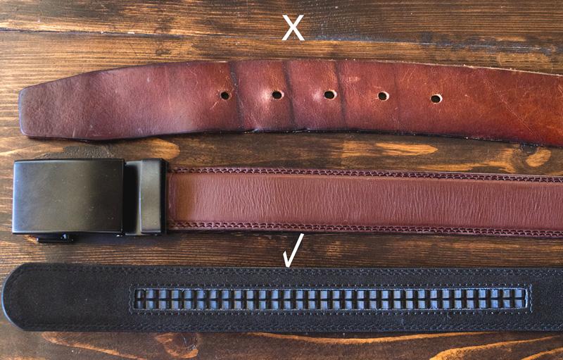 Anson micro adjustable belt