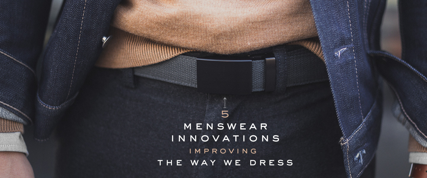 5 Tech-Savvy Menswear Innovations Improving the Way We Dress