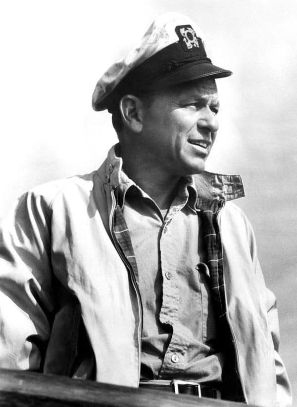 Frank Sinatra wearing harrington jacket