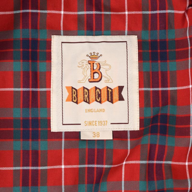 Baracuta jacket label