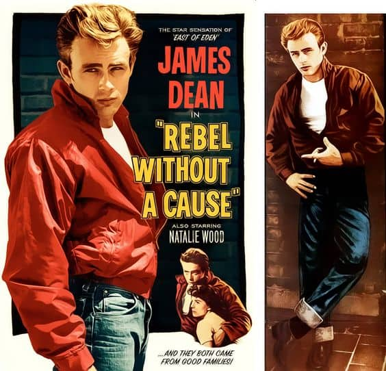 jacket from rebel without a cause