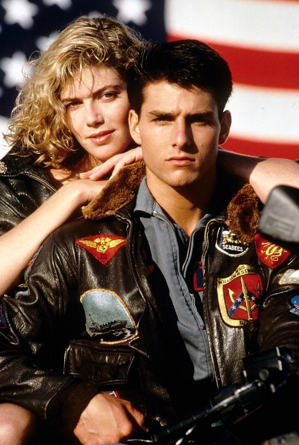 Top Gun promotion image of Tom Cruise