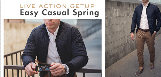 Live Action Getup: Easy Casual Spring