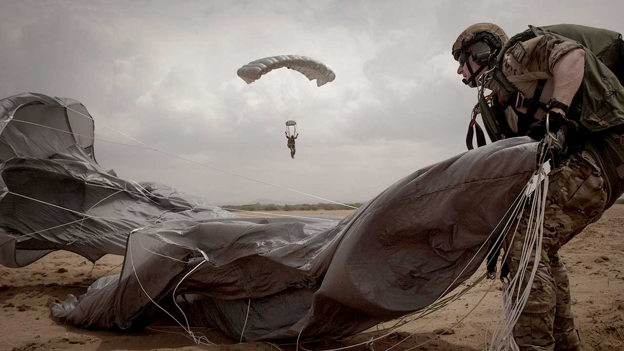 Air Force Spec Ops parachute