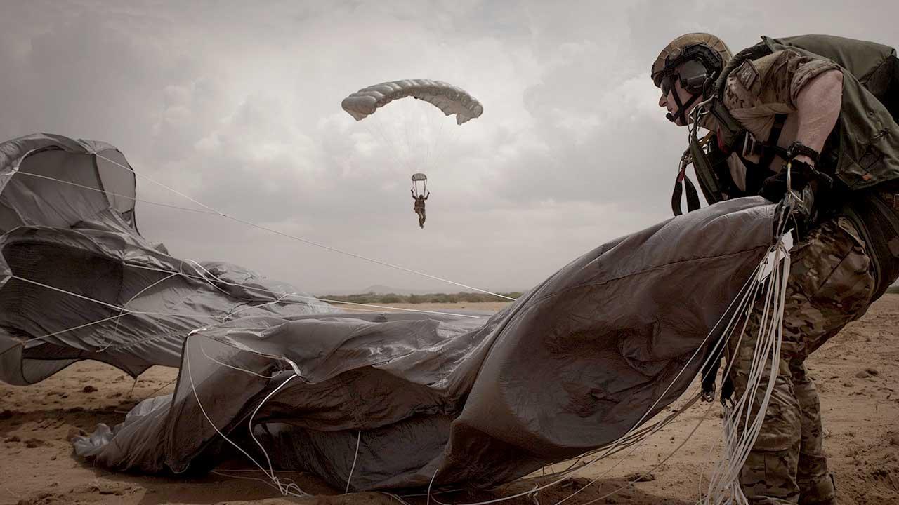 Air Force Spec Ops parachute