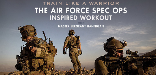 Train Like a Warrior: The Air Force Spec Ops-Inspired