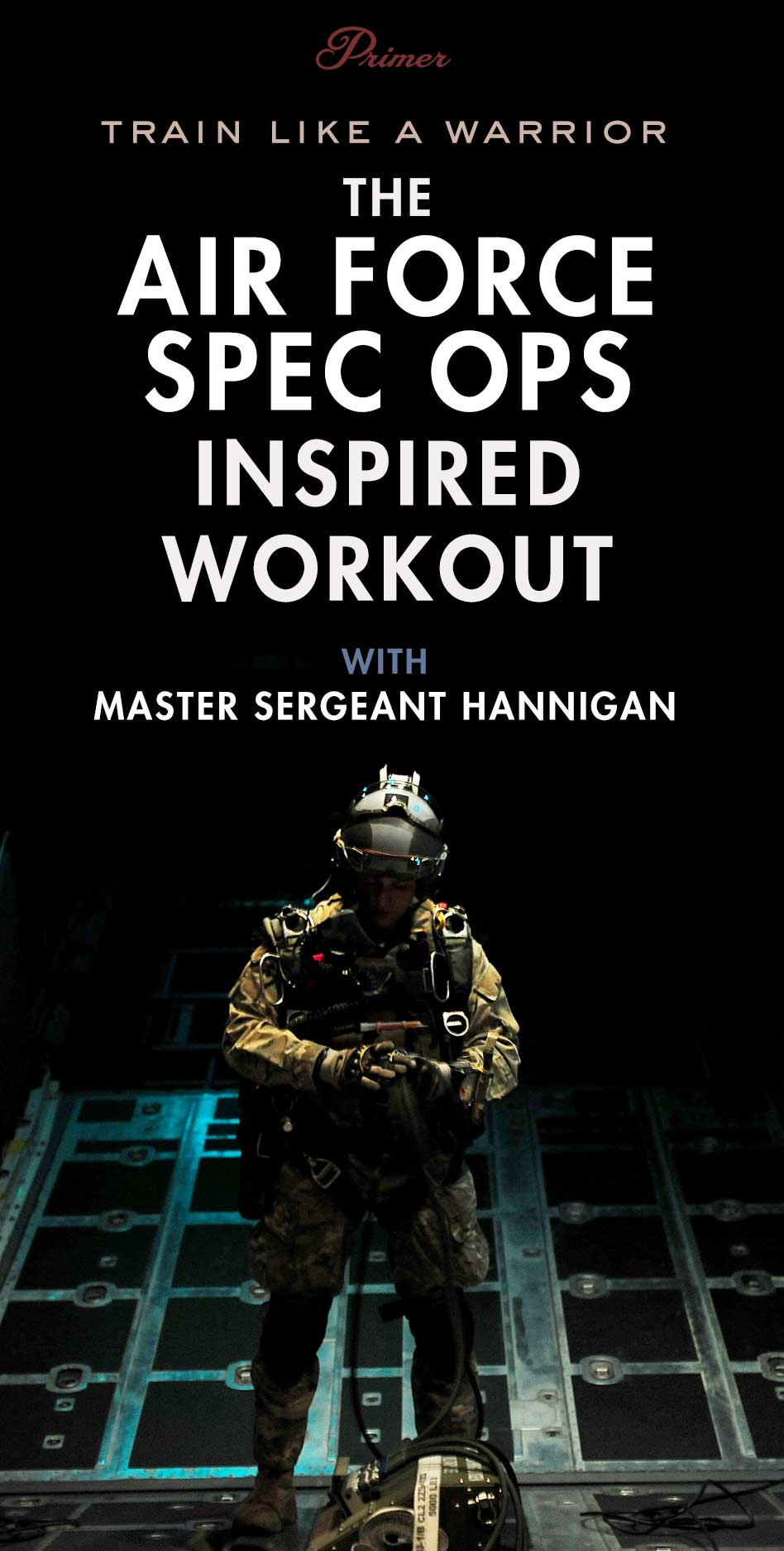 The Air Force Special Ops Workout with Master Sergeant Hannigan