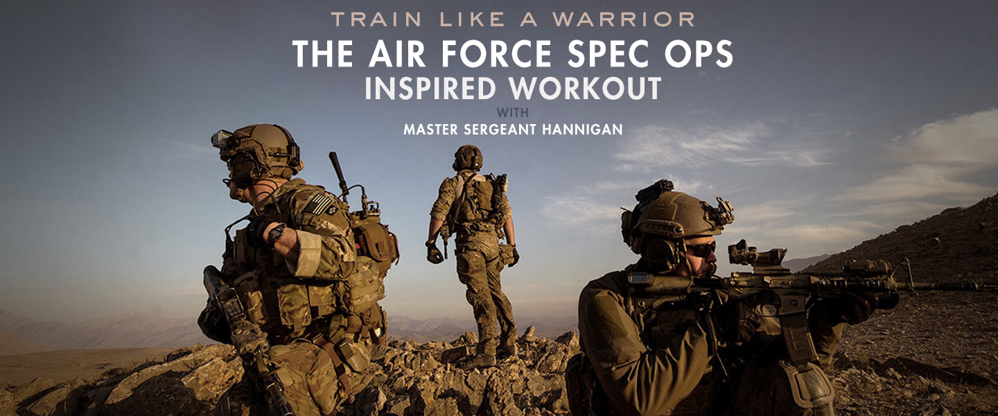 Train Like a Warrior: The Air Force Spec Ops-Inspired Workout