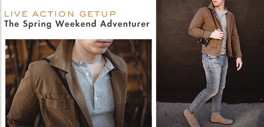 Live Action Getup: The Spring Weekend Adventurer
