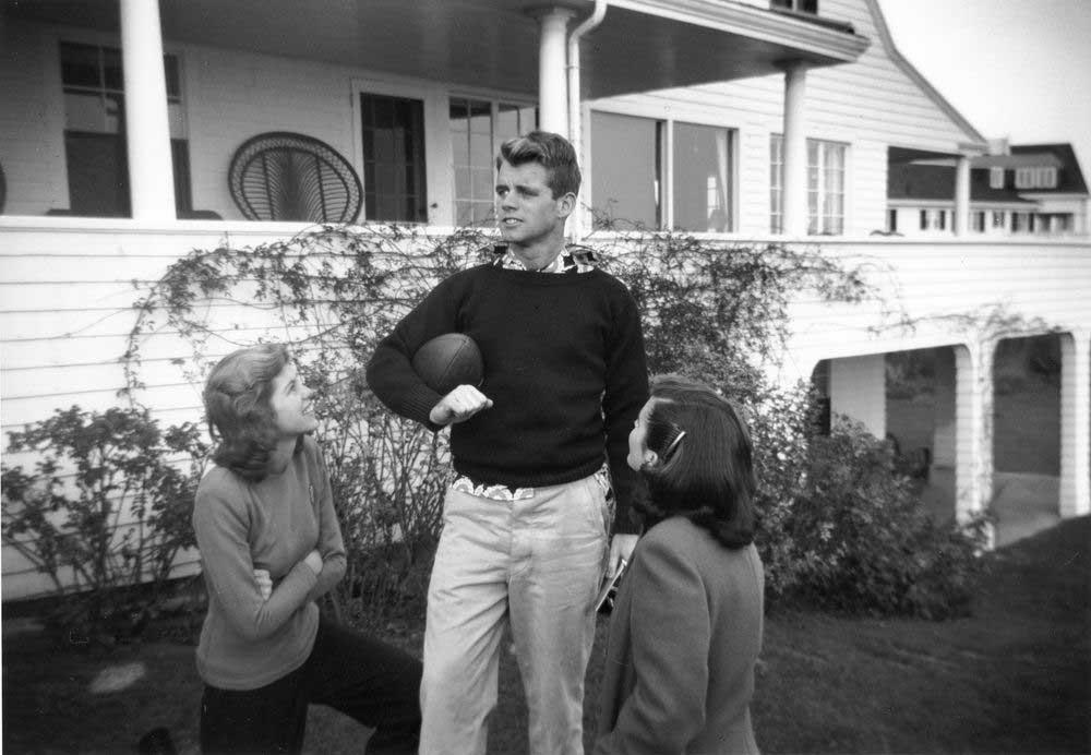 Bobby Kennedy Hyannisport khaki chinos