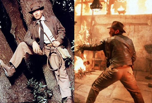 Indiana Jones khaki chino pants