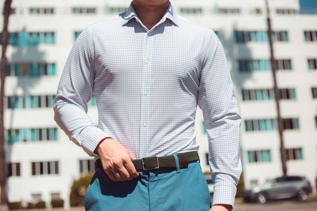 Mizzen + Main Kennedy Button up - Men's Spring / Summer Outfit