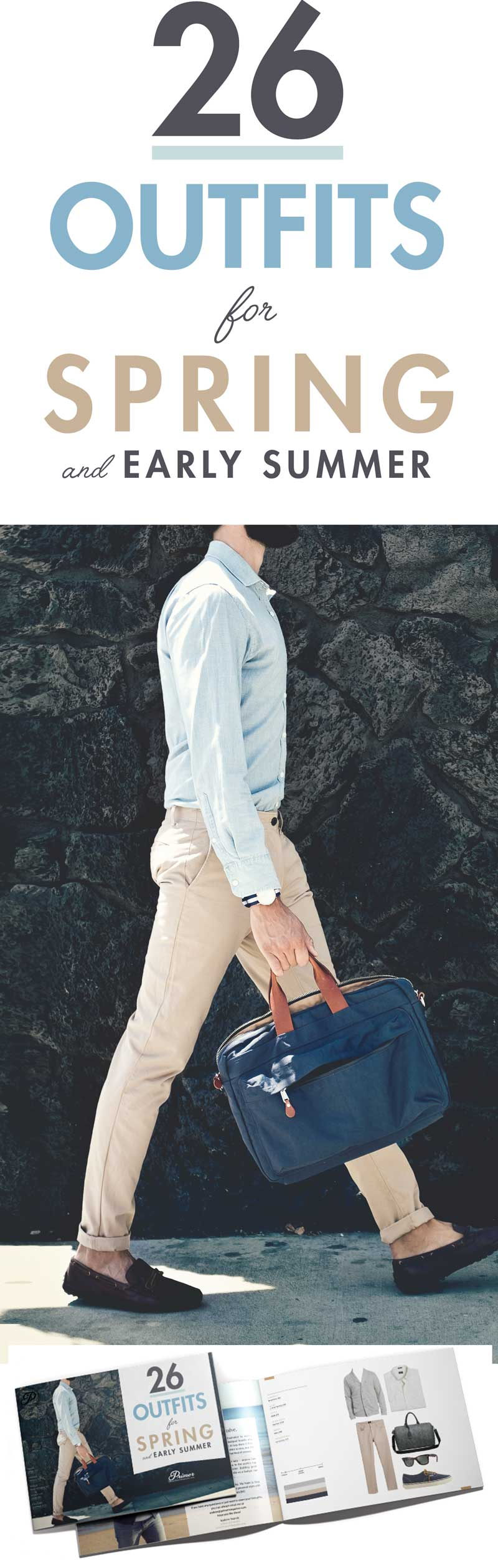 26 Outfits for Spring & Early Summer - Men's Fashion Inspiration - Outfit Ideas