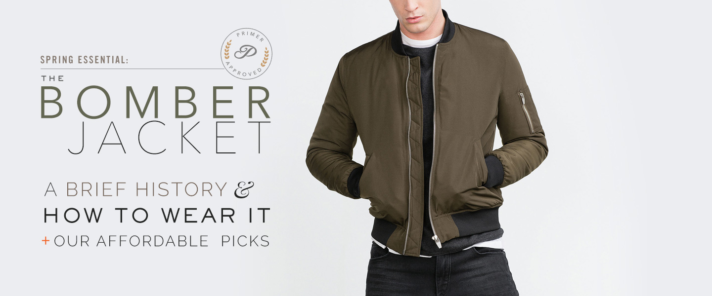 The Bomber Jacket: How to Wear It + Our Affordable Picks