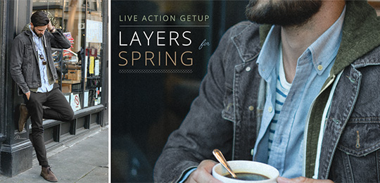 Live Action Getup: Layers for Spring
