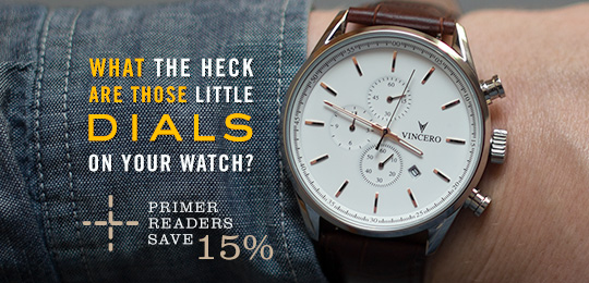 What the Heck Are Those Little Dials on Your Watch? PLUS 15% Off for Primer Readers