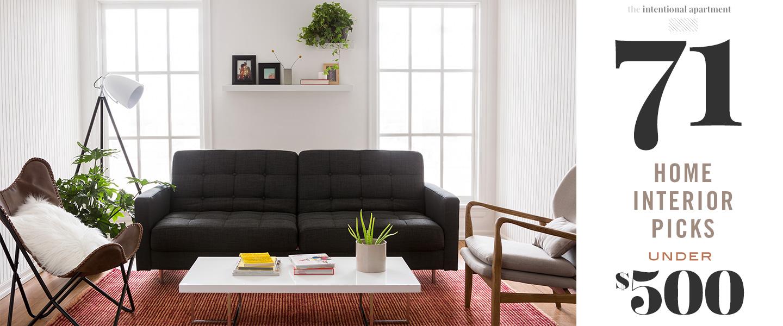 71 Home Interior Picks Under $500