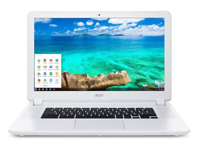 Image of an Acer Chromebook 15