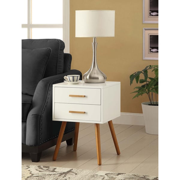 Convenience Concepts Oslo Two-drawer End Table, $99.49