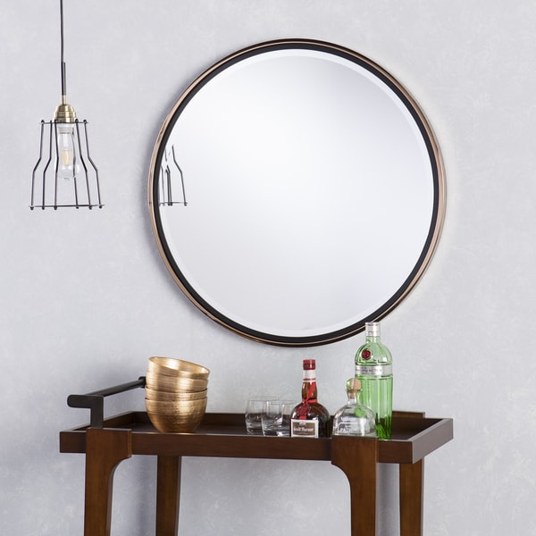 Holly & Martin Wais Round Wall Mirror, $163.19