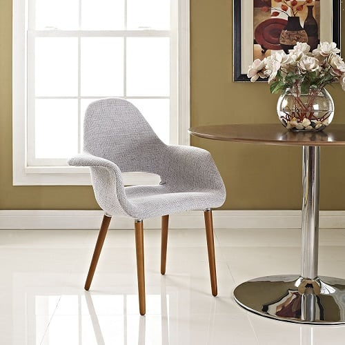Modway Aegis Dining Armchair, Light Gray, $141.43